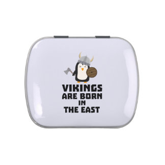 Vikings are born in the East Ze9u6 Jelly Belly Tin