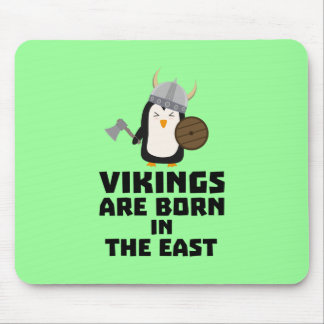 Vikings are born in the East Ze9u6 Mouse Pad