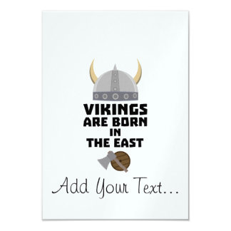Vikings are born in the East Zxli7 Card