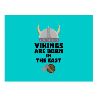 Vikings are born in the East Zxli7 Postcard