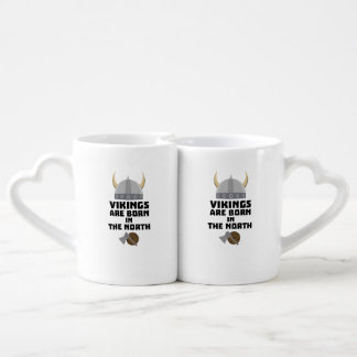 Vikings are born in the North Z7t8x Coffee Mug Set