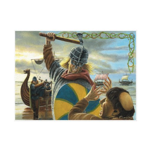an analysis of the vikings who attacked the lindisfarne monastery On a january day in 793 the vikings (also known as the northmen) attacked a christian monastery at lindisfarne in northumbria this was an english kingdom that was famous for the books, arts, and treasures in their monasteries.