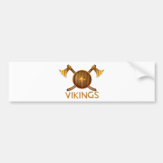 Vikings Car Bumper Sticker