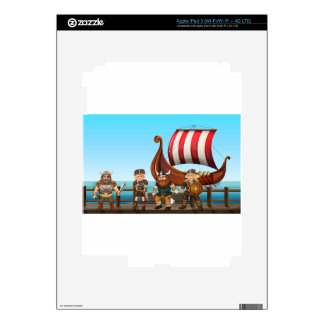 Vikings Decal For iPad 3