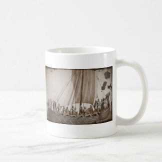 Vikings in a  Longboat Coffee Mug