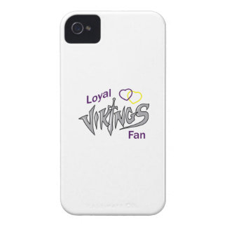 VIKINGS LOYAL FAN iPhone 4 Case-Mate CASES