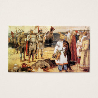 Vikings on the Shore Business Card