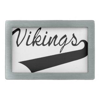 Vikings Rectangular Belt Buckle