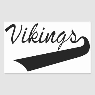 Vikings Rectangular Sticker