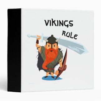 Vikings Rule 3 Ring Binder