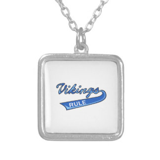 Vikings Rule Personalized Necklace