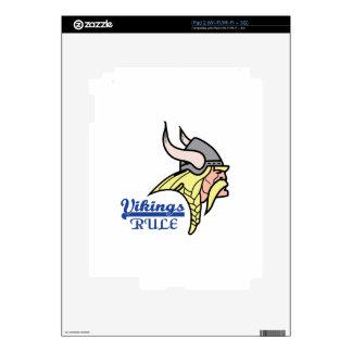 VIKINGS RULE DECALS FOR iPad 2