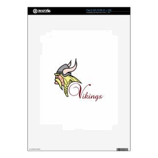 VIKINGS DECAL FOR iPad 2