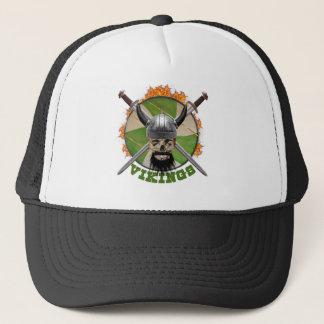 vikings trucker hat