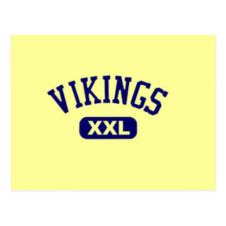 Vikings XXL Blue Postcard