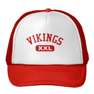 Vikings XXL Red Trucker Hat