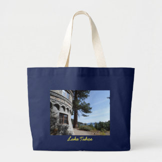 Vikingsholm- Lake Tahoe Large Tote Bag