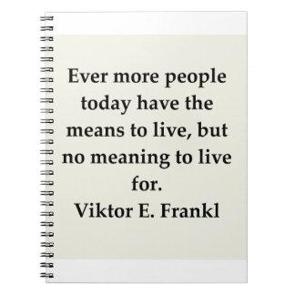 viktor frankl note book