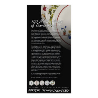 Viktor Schreckengost Dinnerware Legacy Poster