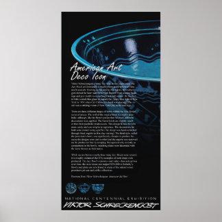 Viktor Schreckengost's Iconic Jazz Bowl Poster
