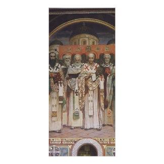 Viktor Vasnetsov Cathedral of Saints Customized Rack Card