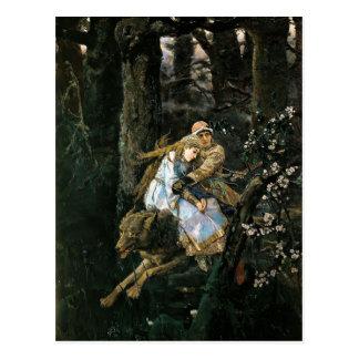 Viktor Vasnetsov- Ivan Tsarevich Riding Grey Wolf Postcard