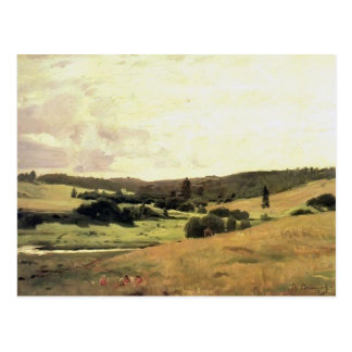 Viktor Vasnetsov- landscape with children Postcard