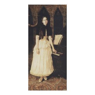 Viktor Vasnetsov- Portrait of Helena Prahovo Full Color Rack Card