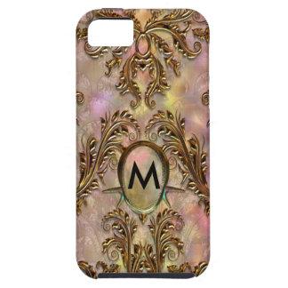 Viktorianische Damast-Eleganz de Slossbury Milla iPhone 5 Fundas