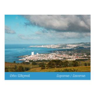 Vila da Lagoa - Azores Postcard