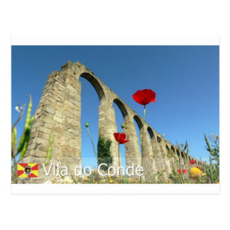 Vila do Conde, Portugal Postcard