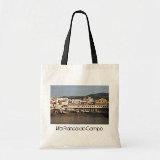 Vila Franca do Campo Azores Canvas Bag