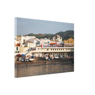 """""""Vila Franca do Campo"""" Azores Canvas Print"""