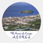 Vila Franca do Campo Stickers