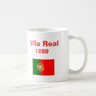 Vila Real* Portugal Coffee Mug  Caneca de Vila Rea