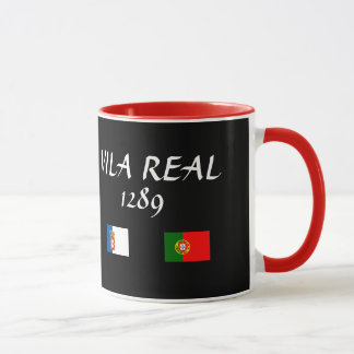 Vila Real Portugal Custom Mug