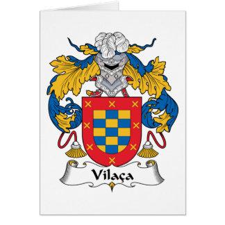 Vilaca Family Crest Card