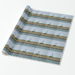 Vilano View of St. Aug. Lighthouse Wrapping Paper