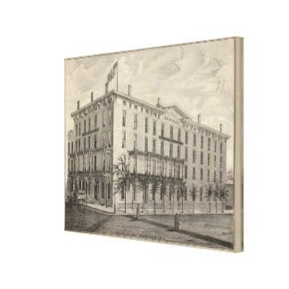 Vilas House, Madison, Wis Canvas Print