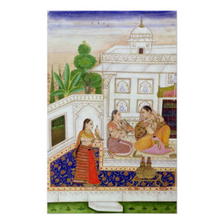 Vilaval Ragini: Woman at her Toilet Poster