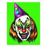Vile Evil Clown Flyers