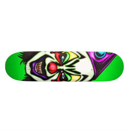Vile Evil Clown Skate Boards
