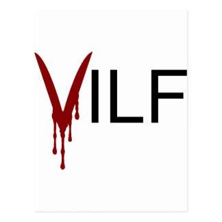 VILF Vampire Postcard