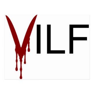 VILF Vampire Post Cards