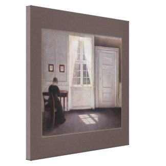 Vilhelm Hammershøi CC0280 (30 in 76,2 cm) Canvas Print