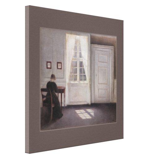 Vilhelm Hammershøi CC0280 Canvas (30 in 76,2 cm)