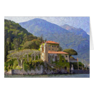 """Villa Balbianello, Lake Como"" Greeting Card"