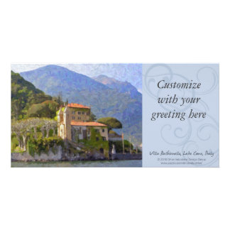 Villa Balbianello, Lake Como Photocard Card