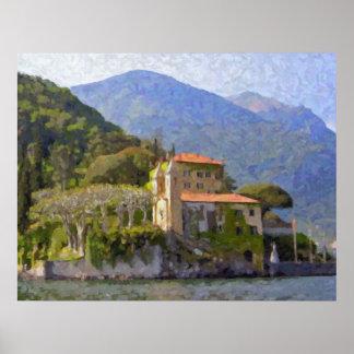 Villa Balbianello, Lake Como Poster