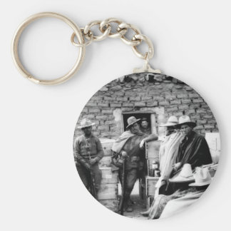 Villa bandits who raided Columbus_War Image Keychain